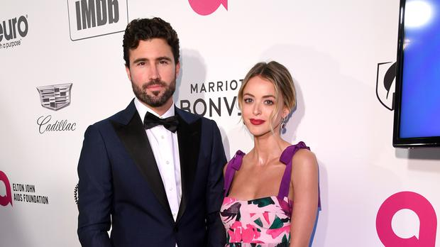 Brody Jenner has defended ex-girlfriend Kaitlynn Carter following their split (PA)