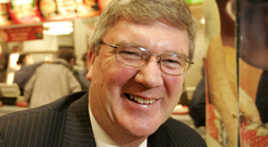 Call for more competition: Supermac's head Pat McDonagh wants farmers to get more control of their destiny. Photo: Gerry Mooney