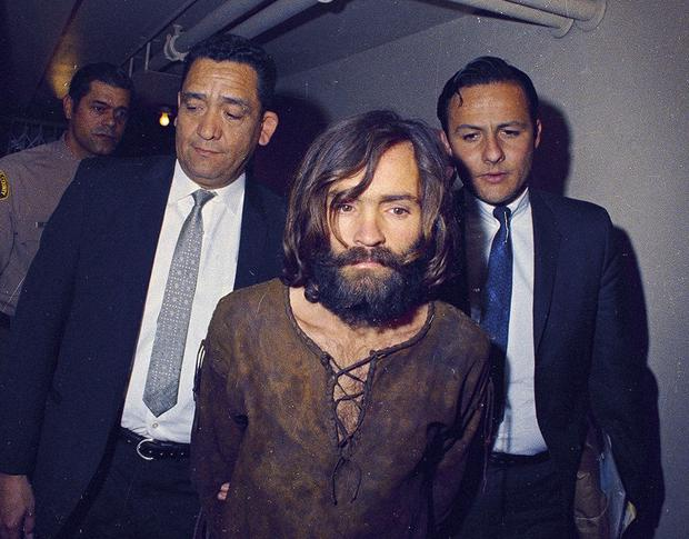 Missed opportunities: Manson and members of his group were arrested but never charged before the 1969 murders