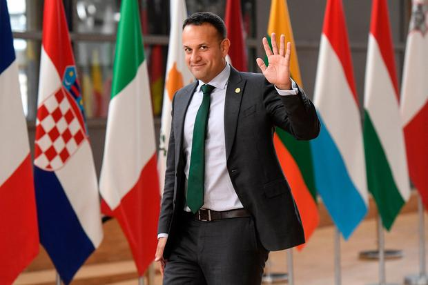 Keeping us in the dark: Taoiseach Leo Varadkar won't tell us how they will check goods crossing the Border should the UK crash out of the EU. Photo: EMMANUEL DUNAND/AFP/Getty Images