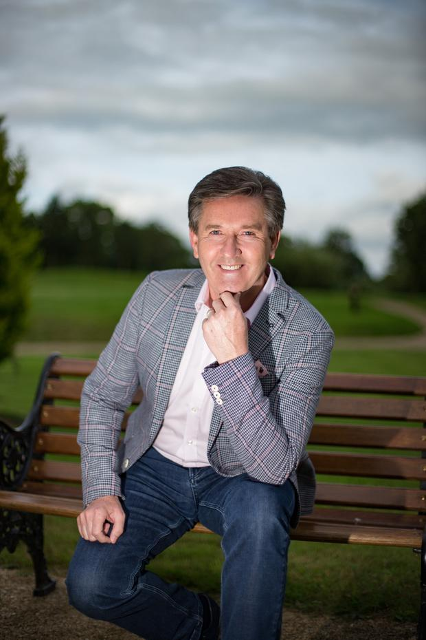 Man of great faith .... Singer Daniel O'Donnell, seen relaxing this week in Lyrath Estate, Kilkenny, tries to pray every day. Photo: Mark Condren