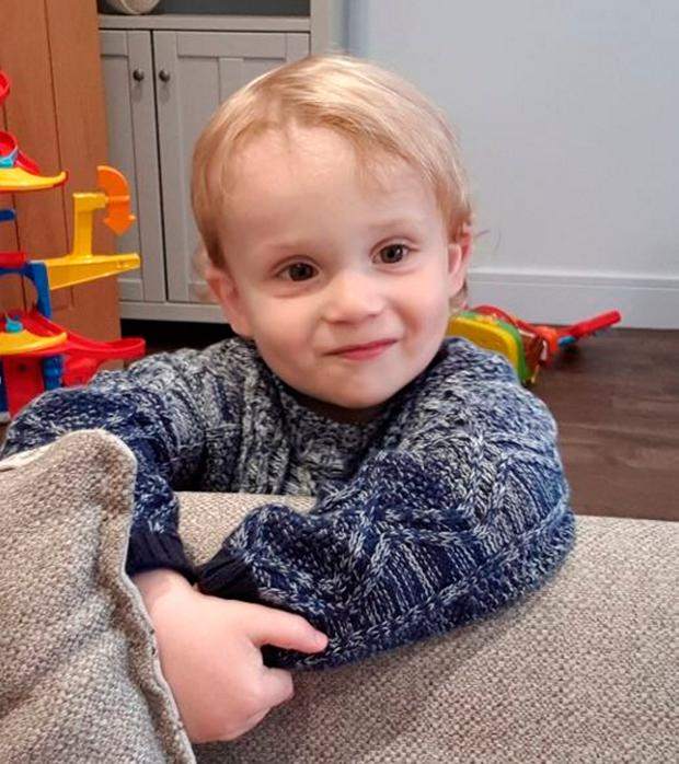 Jake Ford was aged 23 months when he was killed Photo credit: Family handout/PA Wire