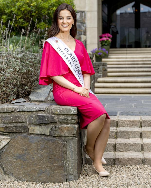 Victoria O'Connell will set off tomorrow to start the Rose of Tralee festivities. Photo: Don Moloney