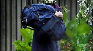 Tom Humphries leaving the Midlands Prison. Exclusive photo by Steve Humphreys