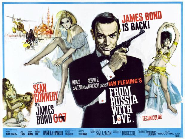 Johanna Harwood also penned 'From Russia With Love' (1963). Photo: LMPC via Getty Images