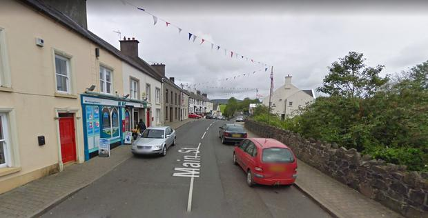 The incident happened on Main Street in Armoy, Co Down Photo: Google Maps