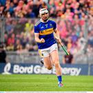 Séamus Kennedy of Tipperary celebrates a second half point during the GAA Hurling All-Ireland Senior Championship Final match between Kilkenny and Tipperary at Croke Park in Dublin. Photo by Stephen McCarthy/Sportsfile