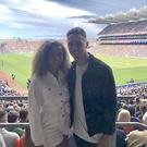 Greg and Amber at Croke Park