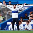 Chelsea manager Frank Lampard reacts REUTERS/Eddie Keogh