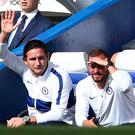 Chelsea manager Frank Lampard before the match