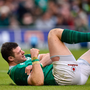 Audi Ambassador Robbie Henshaw says he's learned lessons from injuries which cut short his involvement in Ireland's 2018 Grand Slam triumph. Photo by Seb Daly/Sportsfile