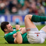 Audi Athlone Ambassador Robbie Henshaw says he's learned lessons from injuries which cut short his involvement in Ireland's 2018 Grand Slam triumph. Photo by Seb Daly/Sportsfile