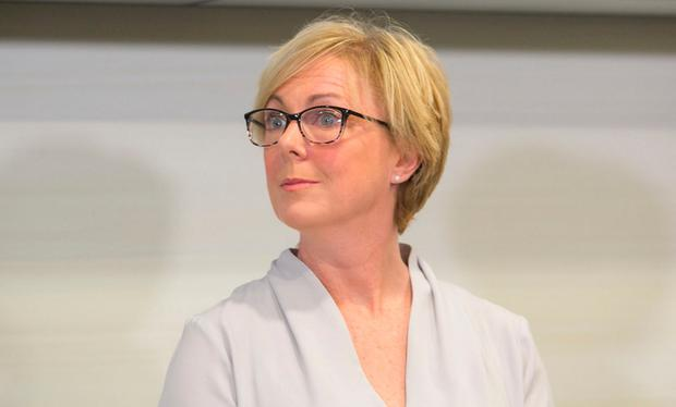 Minister Regina Doherty has been accused of 'hiding away'. Photo: Photo: Gareth Chaney, Collins