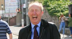 Proposal: Minister Shane Ross pictured on his way into Croke Park for yesterday's All-Ireland hurling final. Photo: Gareth Chaney, Collins