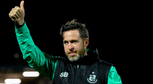 Bradley: Looking to close gap. Photo by Oliver McVeigh/Sportsfile