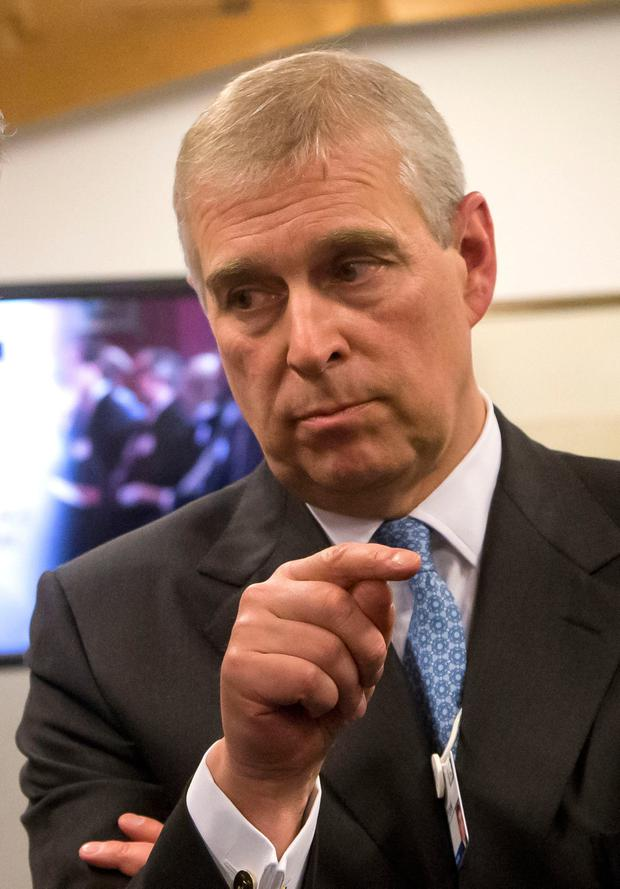 Britain's Prince Andrew. Photo: Michel Euler/PA Wire