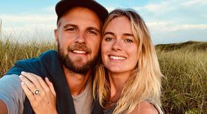 Cressida Bonas and new fiancé Harry Wentworth-Stanley. Picture: Instagram