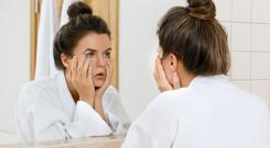 Dealing with a newborn, alongside tiredness and stress can really take its toll on your skin.