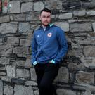 Keith Treacy, pictured before leaving St Patrick's Athletic in 2016, has a 'hunger' to get back playing again. Photo: Caroline Quinn