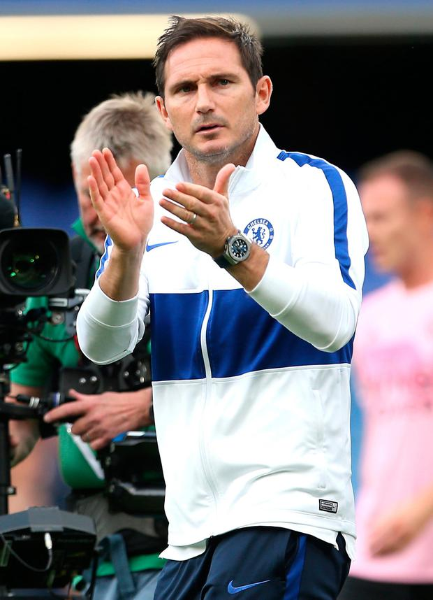 Chelsea manager Frank Lampard. Photo: Steven Paston/PA Wire