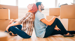 'If the homeowner wants more rent, then they should rent out two rooms instead of saddling some unfortunate, generally young, person with extortionately high rent costs' Stock photo