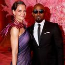 Katie Holmes and Jamie Foxx attend The 2019 Met Gala Celebrating Camp: Notes on Fashion at Metropolitan Museum of Art on May 06, 2019 in New York City. (Photo by Kevin Tachman/MG19/Getty Images for The Met Museum/Vogue)