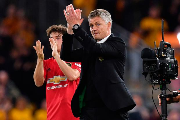 Manchester United manager Ole Gunnar Solskjaer. Photo: Getty Images