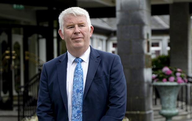 Concerns: David Fitzgerald of Woodlands House Hotel. Photo: Don Moloney