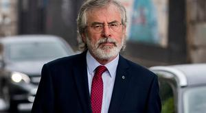 Former Sinn Fein President Gerry Adams. Photo: PA
