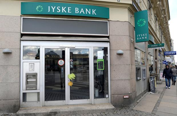 Jyske Bank branch in Copenhagen
