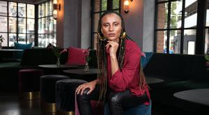 Musician Loah, who left her day-job to puruse a musical career. Photo: Gerry McManus