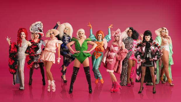 They came to slay! Queens for UK's first RuPaul's Drag Race are revealed (Leigh Keily/BBC)