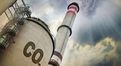 Climate fears: Chambers Ireland has urged the Government to act now to cut carbon emissions. Stock Image