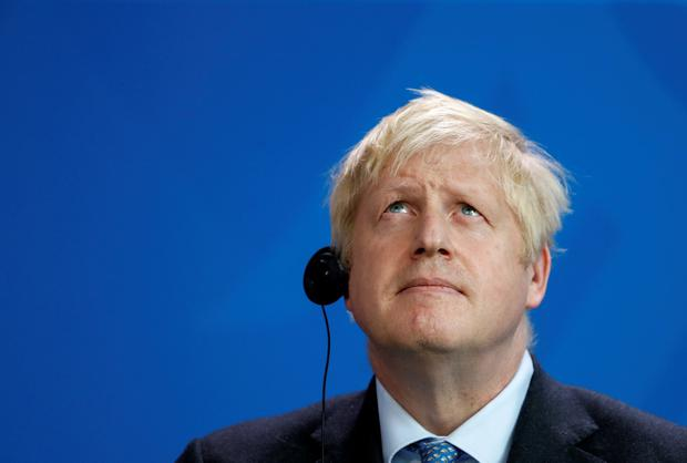 Mr Johnson's acknowledgment last night that the 'onus is on us' to produce credible plans to replace the backstop and facilitate frictionless trade will be eagerly anticipated. Photo: REUTERS/Fabrizio Bensch