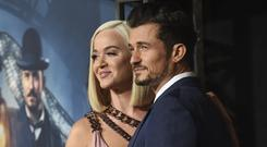Katy Perry and Orlando Bloom (Chris Pizzello/AP)