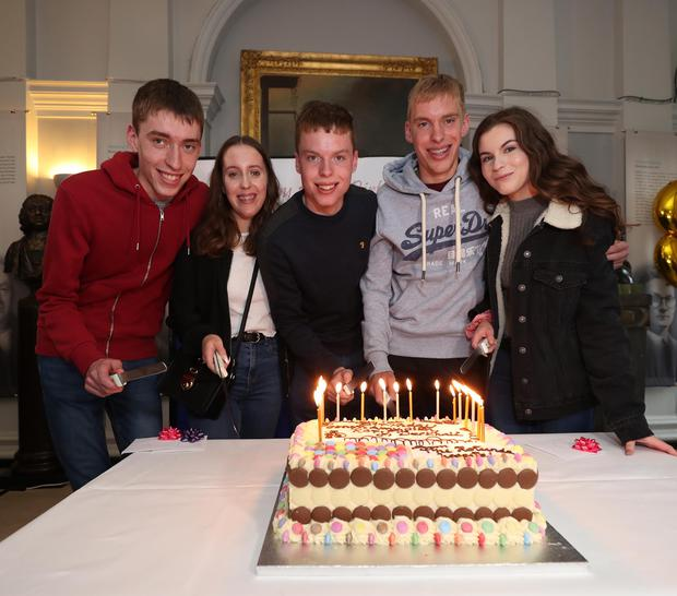Irelands only quintuplets celebrate 18th birthday at the Rotunda Hospital The Cassidy siblings, Conor (left) Amy, Cian, Rory and Derbhail (right) Irelands only quintuplets, returned to celebrate their milestone 18th birthday at the Rotunda Hospital. Pic. Robbie Reynolds