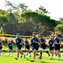 Andrew Porter and his Ireland team-mates during Ireland Rugby squad training at The Campus in Quinta do Lago in Faro, Portugal. Photo by Ramsey Cardy/Sportsfile