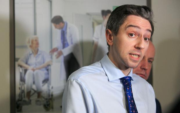 Response: Health Minister Simon Harris's extra free tests have led to increased demand. Picture: Collins