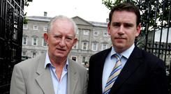 Dynasty: John Deasy succeeded his father Austin as a TD for Waterford