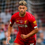 MAKING UP FOR LOST TIME: Alex Oxlade- Chamberlain has been given a new deal at Anfield. Photo: Barrington Coombs/PA Wire.