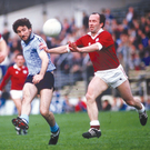 24 May 1986: Kieran Duff, Dublin, in action against Galway. Picture Credit: Ray McManus / SPORTSFILE
