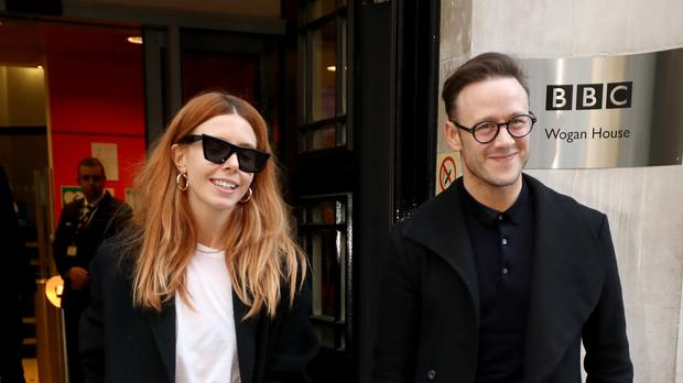 Stacey Dooley and Kevin Clifton (Gareth Fuller/PA)