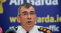 Plan of action: Garda Commissioner Drew Harris has delivered his proposals for reform, designed to improve policing