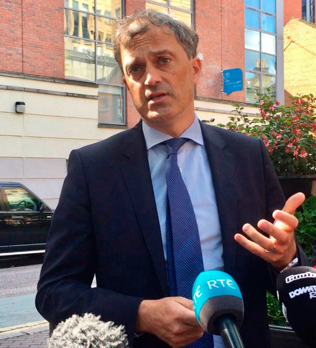 Priority: UK Northern Ireland Secretary Julian Smith is working with Tánaiste Simon Coveney on the Assembly. Picture: PA