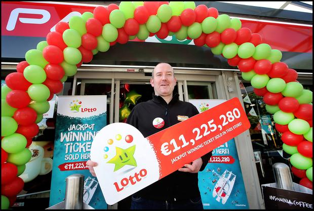Lotto reveals where winning €11.2m ticket was sold