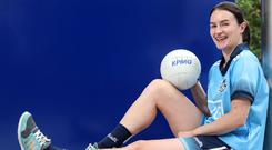 Sinéad Aherne aims to lead Dublin into the All-Ireland final by beating Cork tomorrow as they bid to complete the elusive three in a row