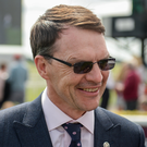 Aidan O'Brien. Photo: Cody Glenn/Sportsfile