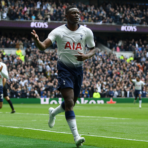 Wanyama looks set to leave by the time the European transfer window shuts on September 2, with strong reports of a possible move to Club Brugge. Photo: Shaun Botterill/Getty Images