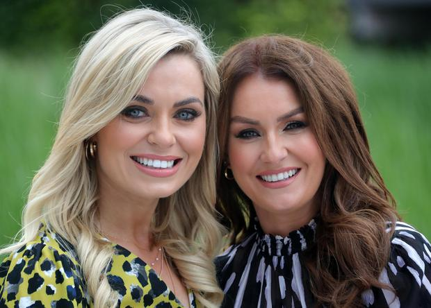 Anna Geary and Mairead Ronan at the RTÉ autumn 2019 schedule launch. Picture: Colin Keegan/Collins