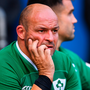 Ireland captain Rory Best looks on during the International match between England and Ireland at Twickenham Stadium in London, England. Photo: Brendan Moran/Sportsfile